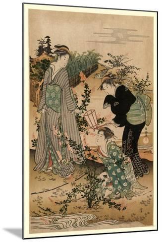Hagi No Tamagawa-Kubo Shunman-Mounted Giclee Print