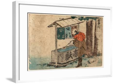 Ishiyakushi-Katsushika Hokusai-Framed Art Print