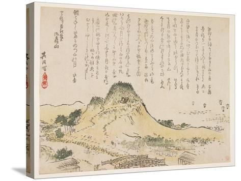Isatsu Mountain, 1839- Kiin-Stretched Canvas Print