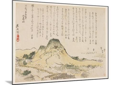 Isatsu Mountain, 1839- Kiin-Mounted Giclee Print