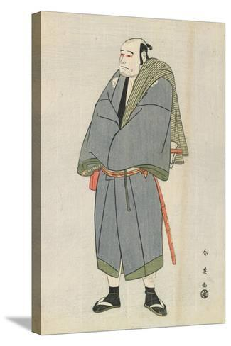 Arashi Ryuzo as Heiemon, 1795-Katsukawa Shun'ei-Stretched Canvas Print