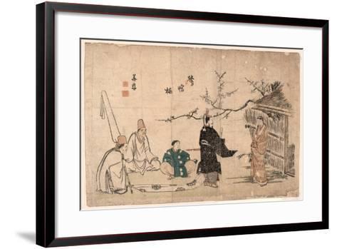 Oshukubai-Kitao Shigemasa-Framed Art Print
