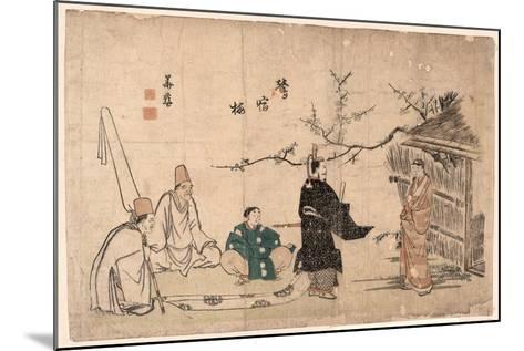 Oshukubai-Kitao Shigemasa-Mounted Giclee Print