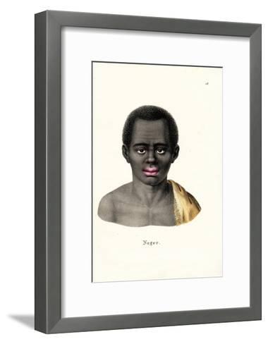 Black Man, 1824-Karl Joseph Brodtmann-Framed Art Print