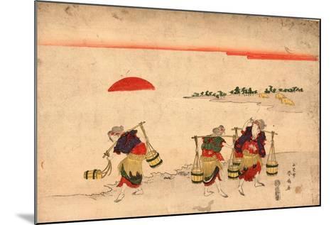 Shiokumi-Katsukawa Shunsen-Mounted Giclee Print