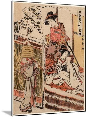 Kudanme-Katsukawa Shunsho-Mounted Giclee Print