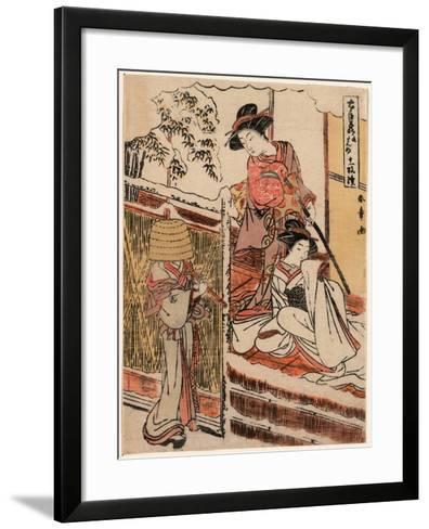 Kudanme-Katsukawa Shunsho-Framed Art Print