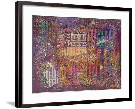 Cosmic Revelations, 1999-Laila Shawa-Framed Art Print