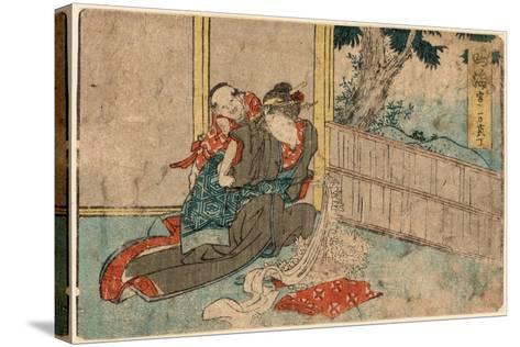 Narumi-Katsushika Hokusai-Stretched Canvas Print