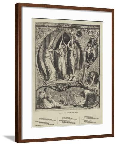Christmas Bells-Lorens Frolich-Framed Art Print