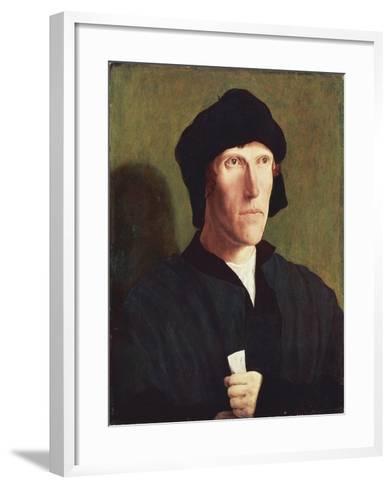 Portrait of 38-Year-Old Man, Ca 1521-Lucas van Leyden-Framed Art Print