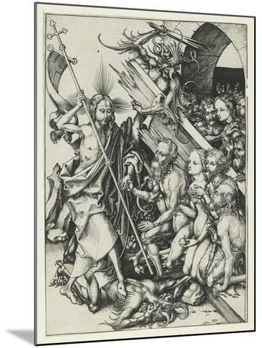 Christ in Limbo-Martin Schongauer-Mounted Giclee Print