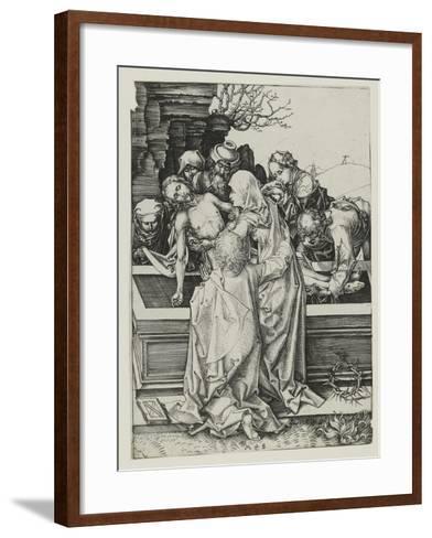 The Entombment-Martin Schongauer-Framed Art Print