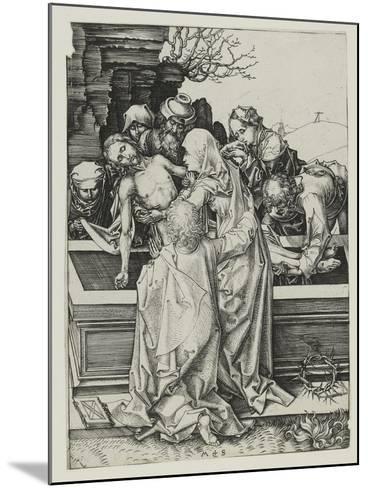 The Entombment-Martin Schongauer-Mounted Giclee Print