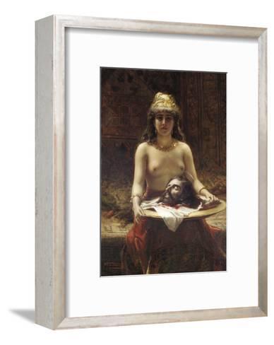 Salome, 1889-Leon Herbo-Framed Art Print