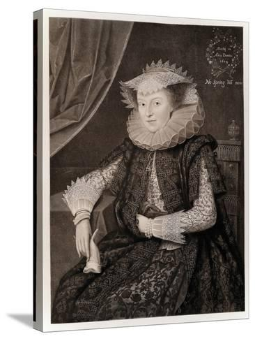 Mary Sidney-Marcus Gheeraerts The Younger-Stretched Canvas Print