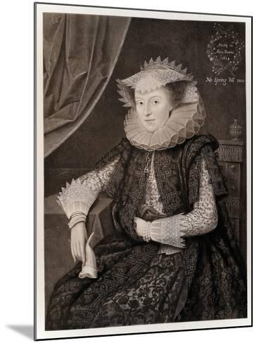 Mary Sidney-Marcus Gheeraerts The Younger-Mounted Giclee Print