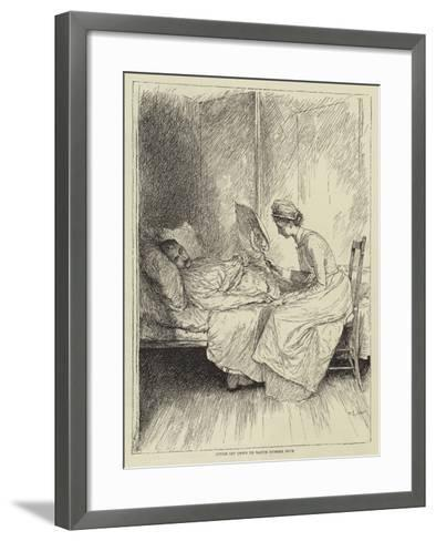 Illustration for the Story of a Nurse-Mary L. Gow-Framed Art Print