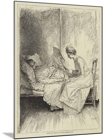Illustration for the Story of a Nurse-Mary L. Gow-Mounted Giclee Print