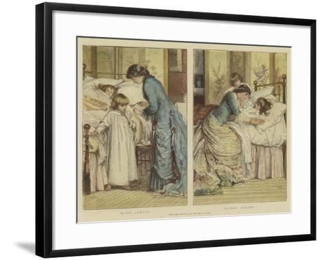 Ugly Auntie, Lovely Auntie-Mary L. Gow-Framed Art Print
