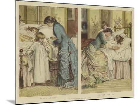 Ugly Auntie, Lovely Auntie-Mary L. Gow-Mounted Giclee Print