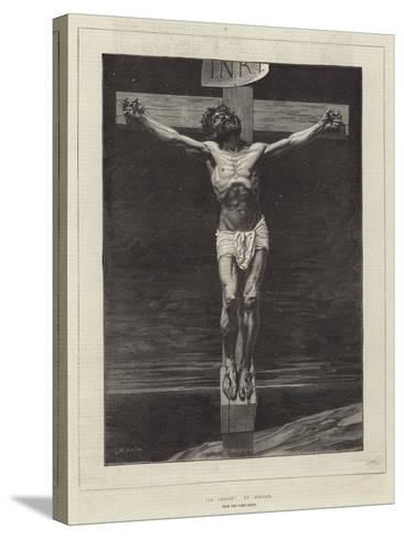 Le Christ, from the Paris Salon-Leon Joseph Florentin Bonnat-Stretched Canvas Print