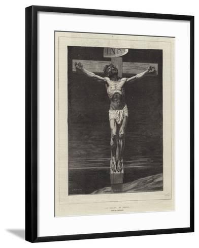 Le Christ, from the Paris Salon-Leon Joseph Florentin Bonnat-Framed Art Print