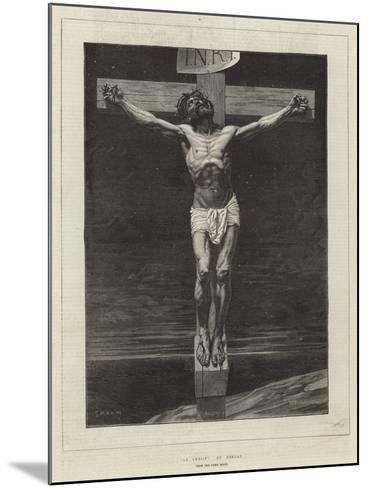 Le Christ, from the Paris Salon-Leon Joseph Florentin Bonnat-Mounted Giclee Print