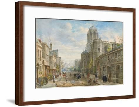 Christ Church, Oxford-Louise Ingram Rayner-Framed Art Print