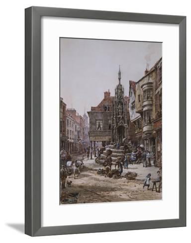 The Cross, Winchester-Louise Ingram Rayner-Framed Art Print