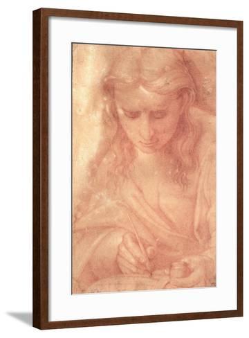 St. John the Divine-Luca Signorelli-Framed Art Print