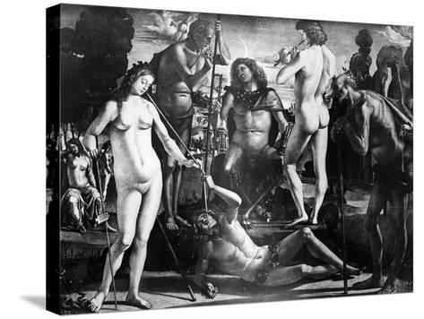 Court of Pan, C.1484-Luca Signorelli-Stretched Canvas Print