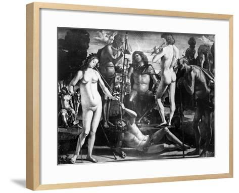 Court of Pan, C.1484-Luca Signorelli-Framed Art Print