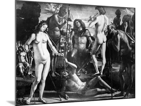 Court of Pan, C.1484-Luca Signorelli-Mounted Giclee Print