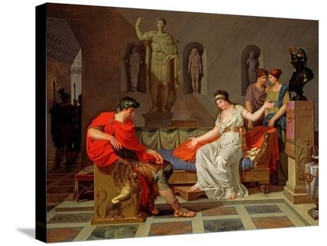 Cleopatra and Octavian, 1787-88-Louis Gauffier-Stretched Canvas Print