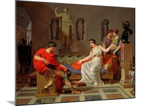 Cleopatra and Octavian, 1787-88-Louis Gauffier-Mounted Giclee Print