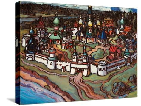 Gorodok, 1899-Maria Iakunchikova-Stretched Canvas Print