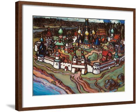 Gorodok, 1899-Maria Iakunchikova-Framed Art Print