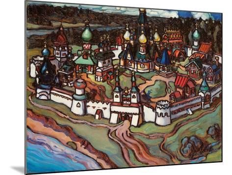 Gorodok, 1899-Maria Iakunchikova-Mounted Giclee Print