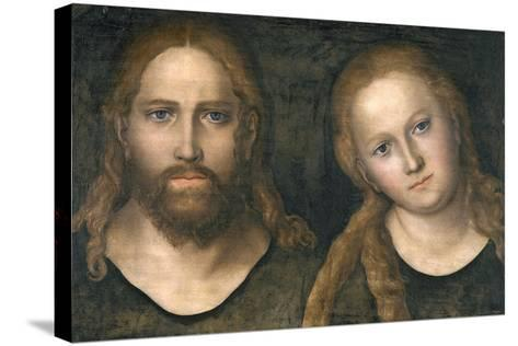 Christ and Mary, 1516-20-Lucas Cranach the Elder-Stretched Canvas Print