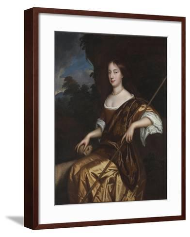 Portrait of Elizabeth Adams, Late 1660s-Mary Beale-Framed Art Print