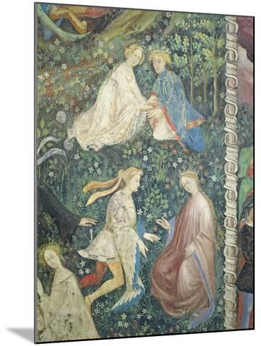 Lovers in a Garden in May-Maestro Venceslao-Mounted Giclee Print