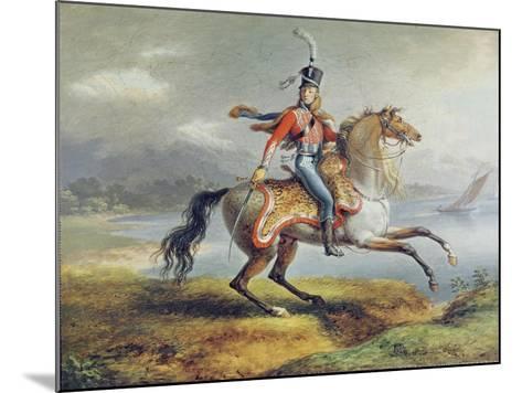 Equestrian Self Portrait, 1806-08-Louis Lejeune-Mounted Giclee Print