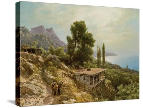 Near Ay-Petri in the Crimea, 1890-Lef Feliksovich Lagorio-Stretched Canvas Print