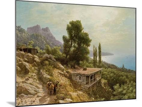 Near Ay-Petri in the Crimea, 1890-Lef Feliksovich Lagorio-Mounted Giclee Print