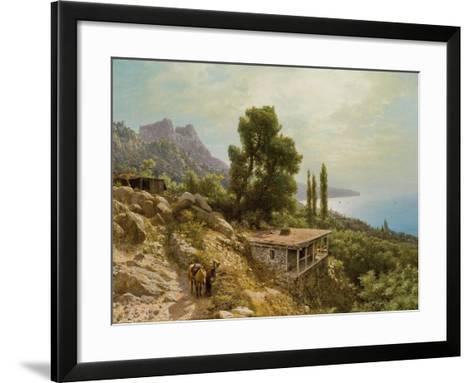 Near Ay-Petri in the Crimea, 1890-Lef Feliksovich Lagorio-Framed Art Print