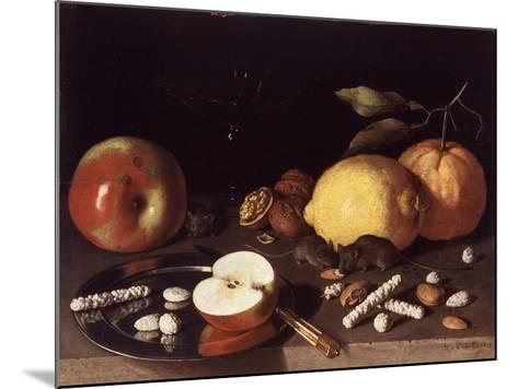 Still Life with Mice, 1619-Lodewik Susi-Mounted Giclee Print