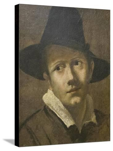 Portrait of a Young Man-Lodovico Carracci-Stretched Canvas Print