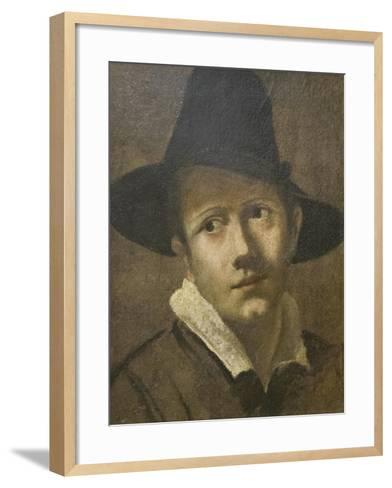Portrait of a Young Man-Lodovico Carracci-Framed Art Print