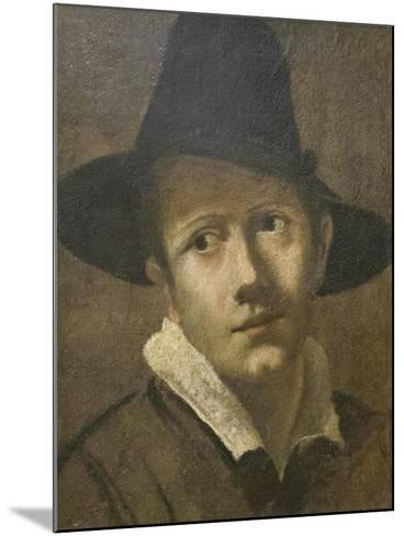 Portrait of a Young Man-Lodovico Carracci-Mounted Giclee Print